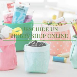 deschide un hobby shop online